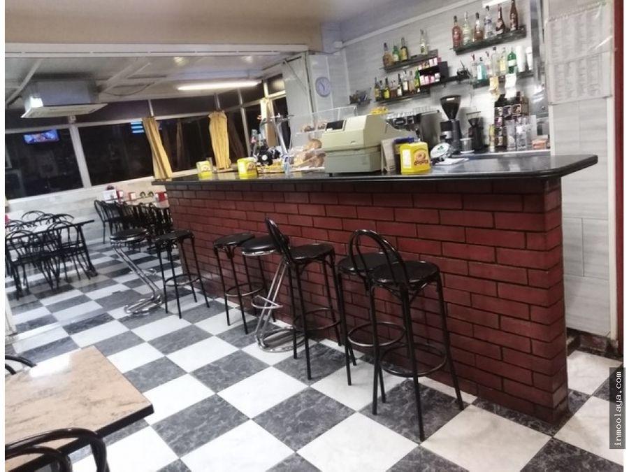 traspaso bar restaurante con terraza en el papiol