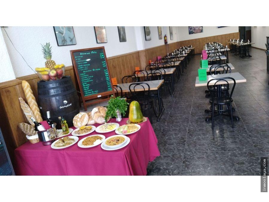 traspaso bar restaurante c3 en montornes del valles