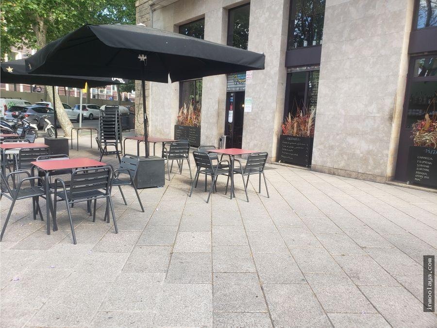traspaso restaurante c3 con terraza en poblenou