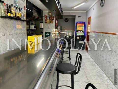 venta bar y licencia c2 con salida de humos en montcada y reixach