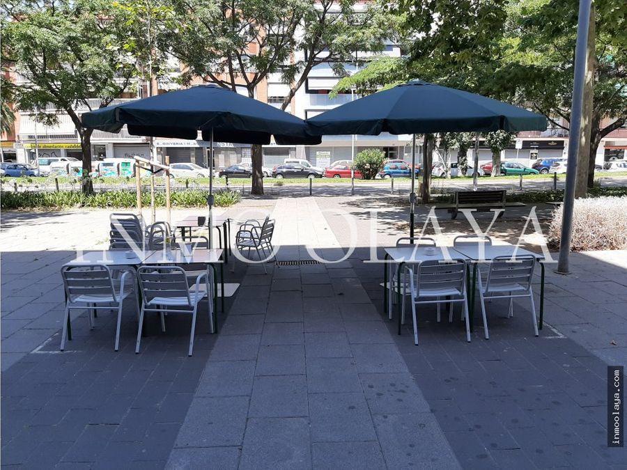 traspaso bar restaurante c3 salida de humos y terraza castelldefels