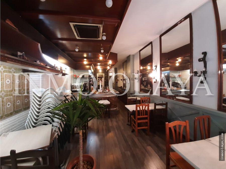 traspaso bar restaurante c3 con terraza en leixample