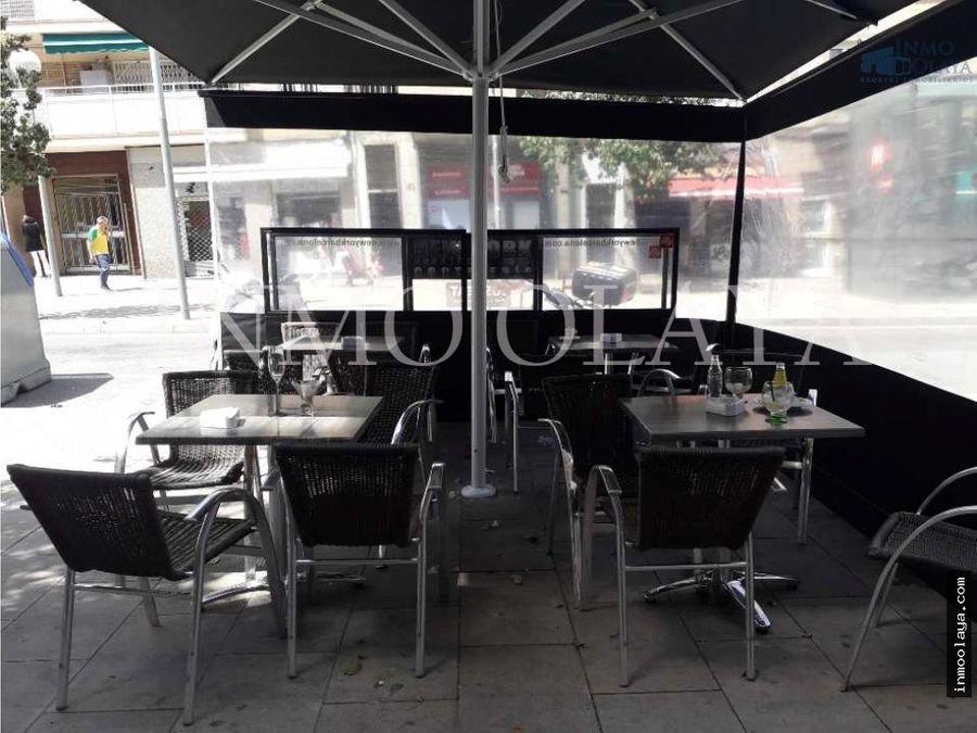 traspaso bar restaurante c2 mixta con terraza en congres