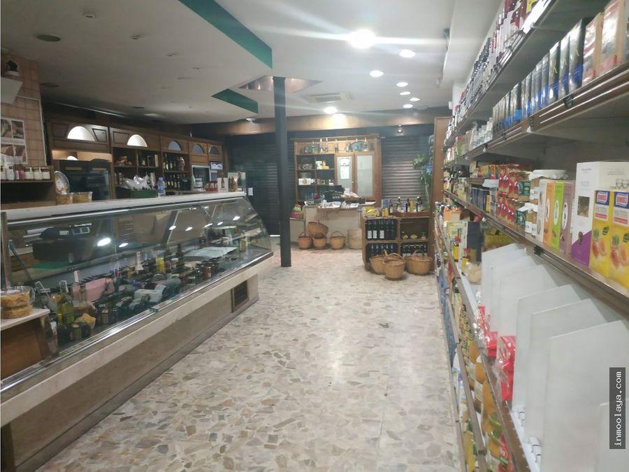 traspaso tienda de alimentacion en sarria