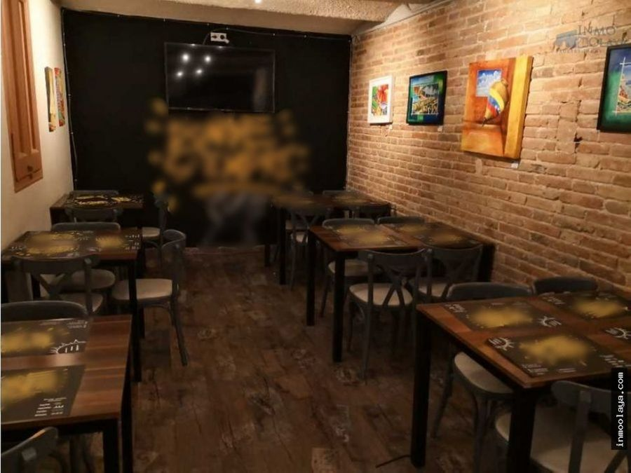 traspaso bar restaurante licencia c2 glories