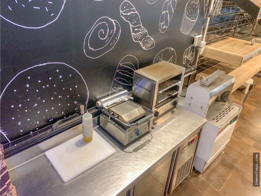 traspaso de panaderia con obrador en av meridiana