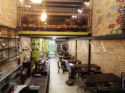 traspaso bar restaurante c3 mixto en poble sec