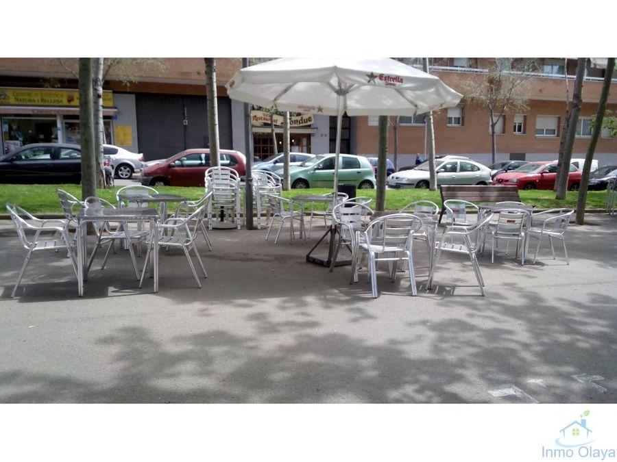 traspaso restaurante con terraza c3 en esplugues