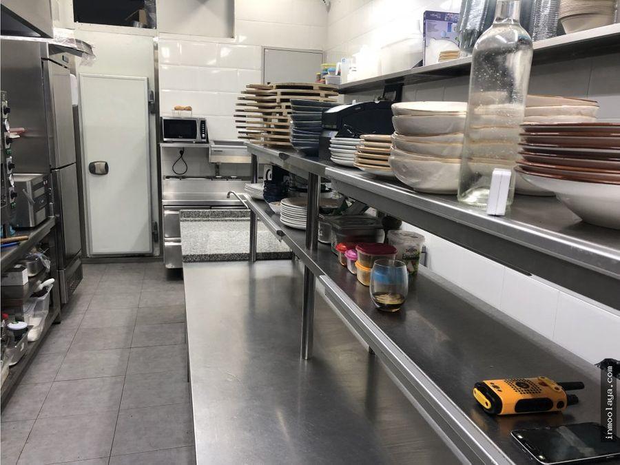 traspaso restaurante c3 mixto en sant cugat