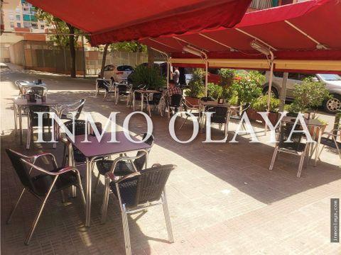 traspaso bar restaurante con terraza en poblenou