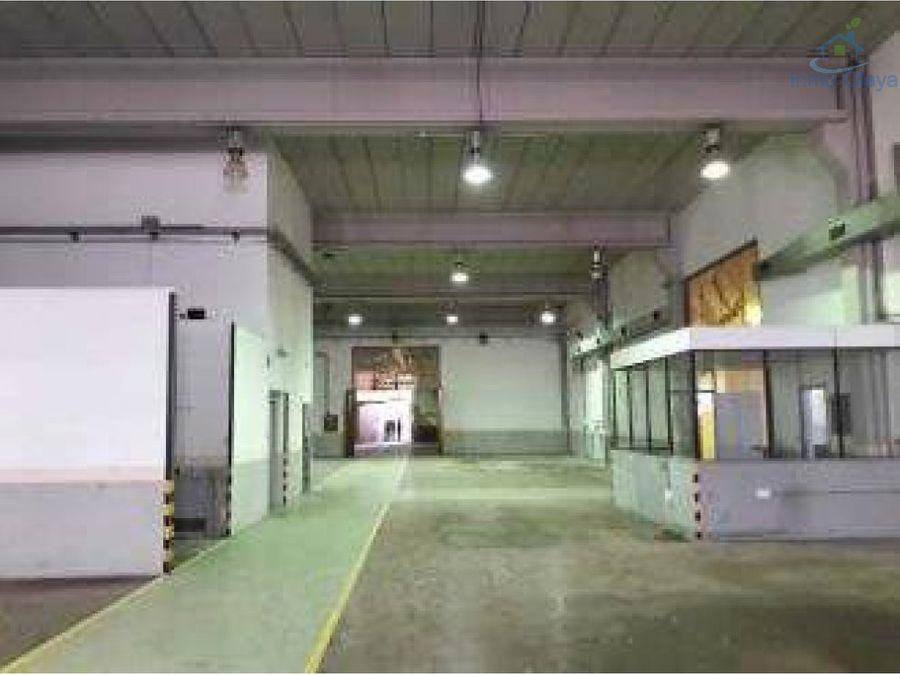alquiler de nave industrial 3700 m2 en cornella
