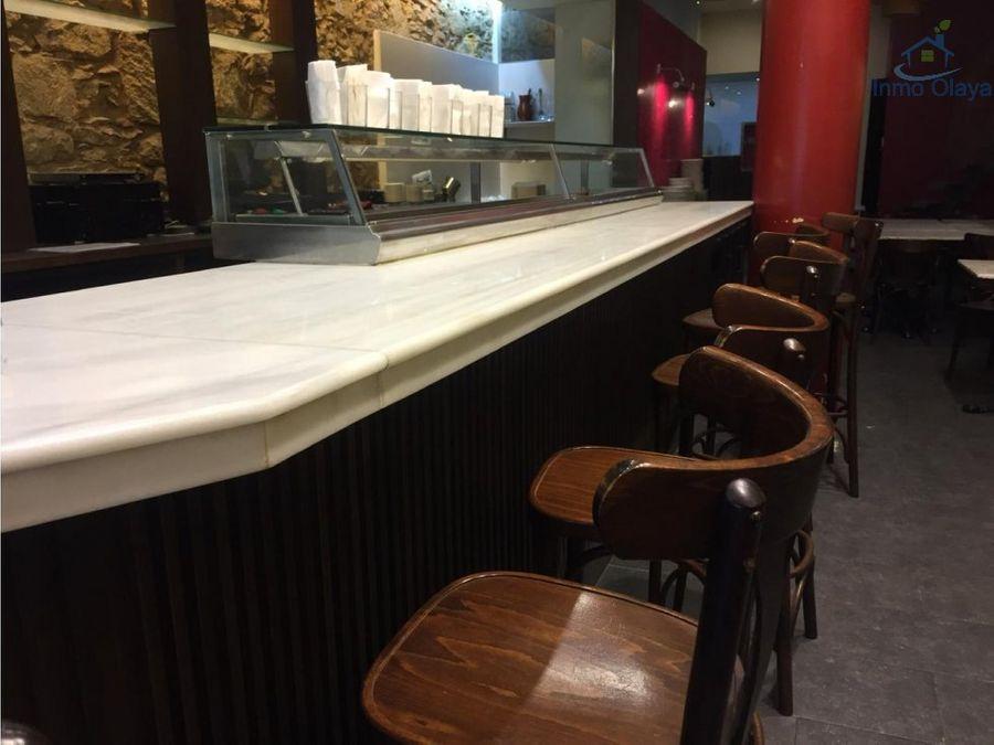 traspaso bar restaurante c3 poble sec