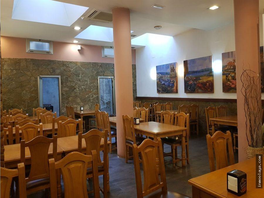 venta restaurante licencia c3 junto a paseo san juan