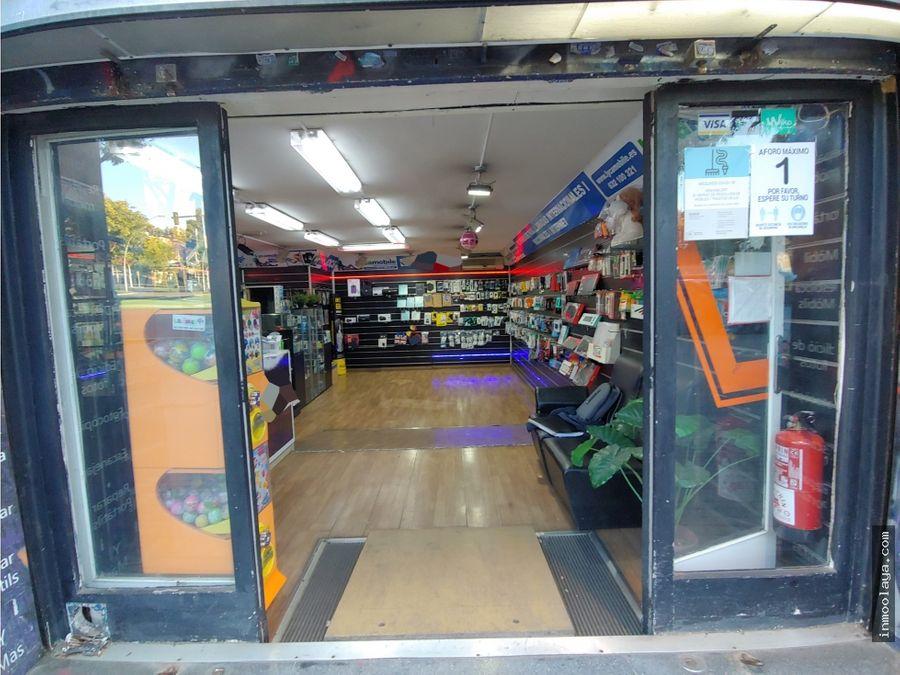traspaso tienda de moviles y electronica en el guinardo