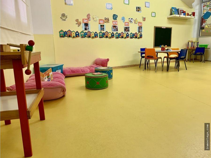 traspaso guarderia jardin de infantes en sarria