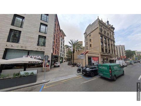 venta de local mas proyecto urbanistico en el centro de barcelona