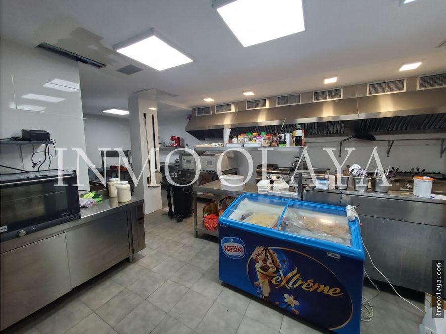 traspaso cocina de produccion y catering en hospitalet