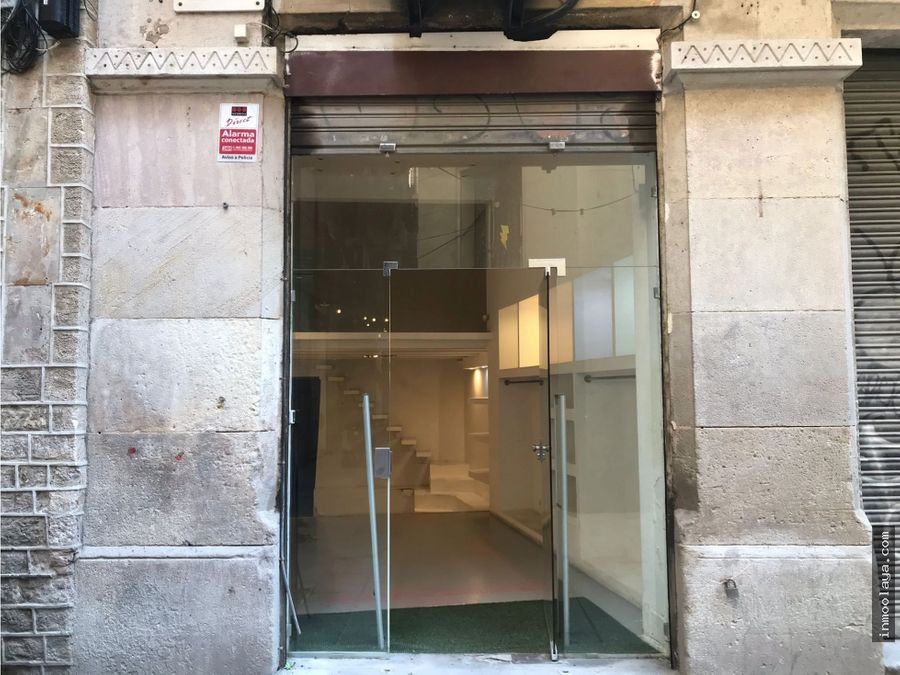 local en venta en el gotico barcelona