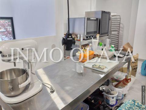 traspaso obrador cocina industrial en hostafrancs