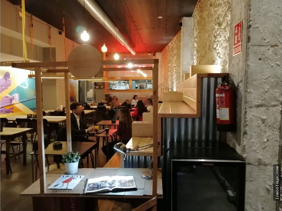 traspaso bar restaurante c3 mixto en leixample