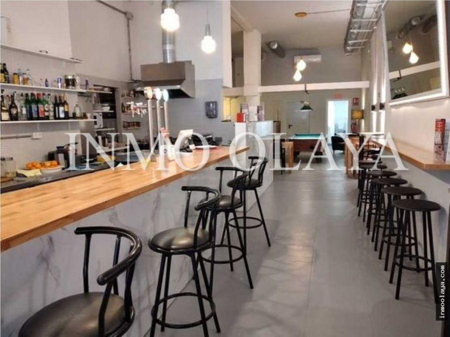 traspaso bar cafeteria junto a plaza urquinaona