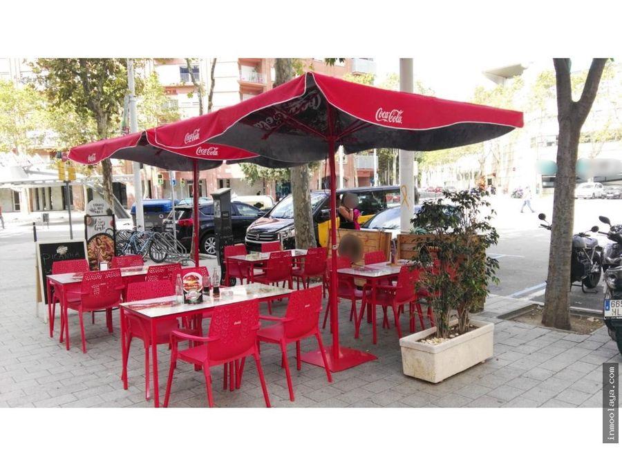 traspaso restaurante c3 en la vila olimpica