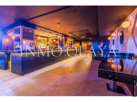 traspaso bar musical licf 3 ambientes en sarria sant gervasi