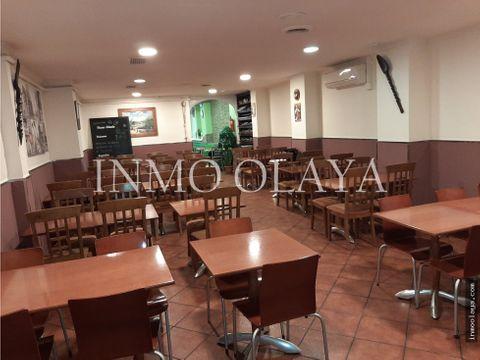 traspaso bar restaurante c3 mixta con terraza en sant gervasi