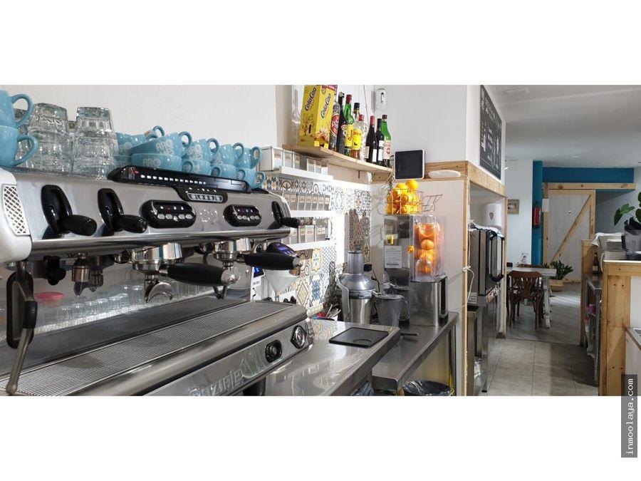 traspaso bar cafeteria c2 avinguda meridiana