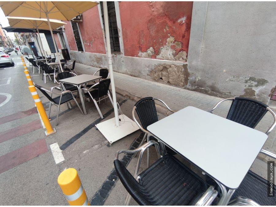 traspaso de restaurante c3 en camp de larpa con terraza