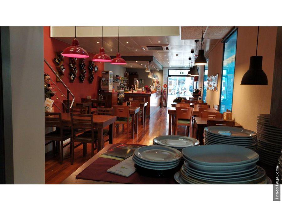 traspaso restaurante c3 centre badalona