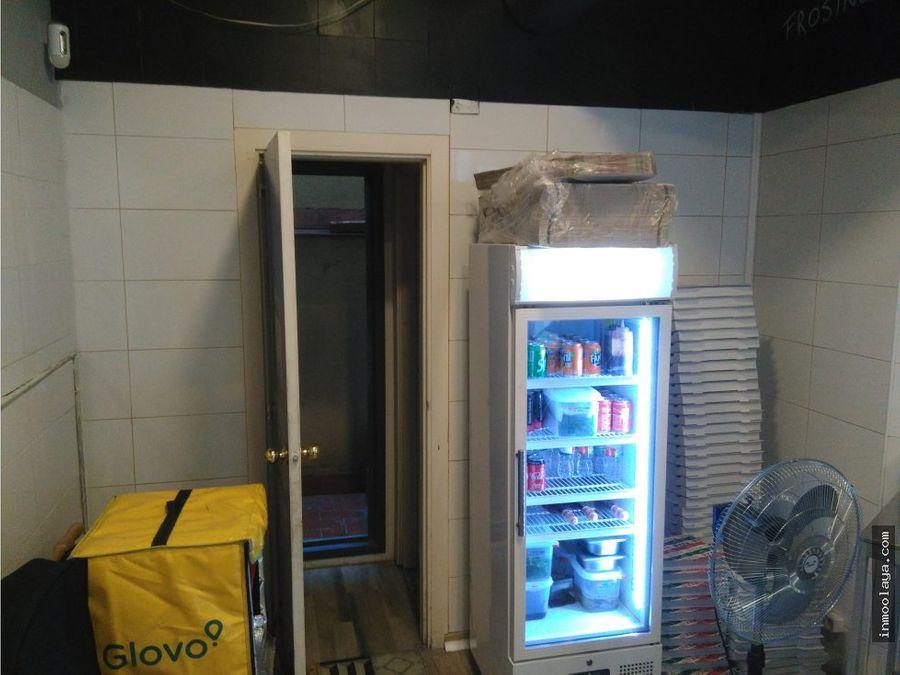 traspaso pizzeria take away con salida de humos en lhospitalet