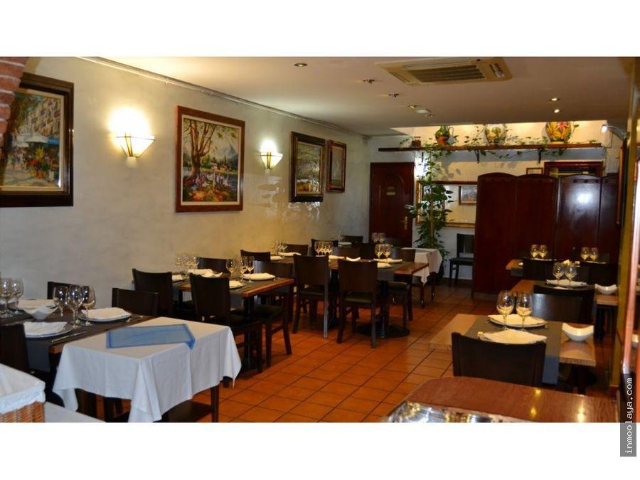 traspaso bar restaurante c3 mixta en sant gervasi