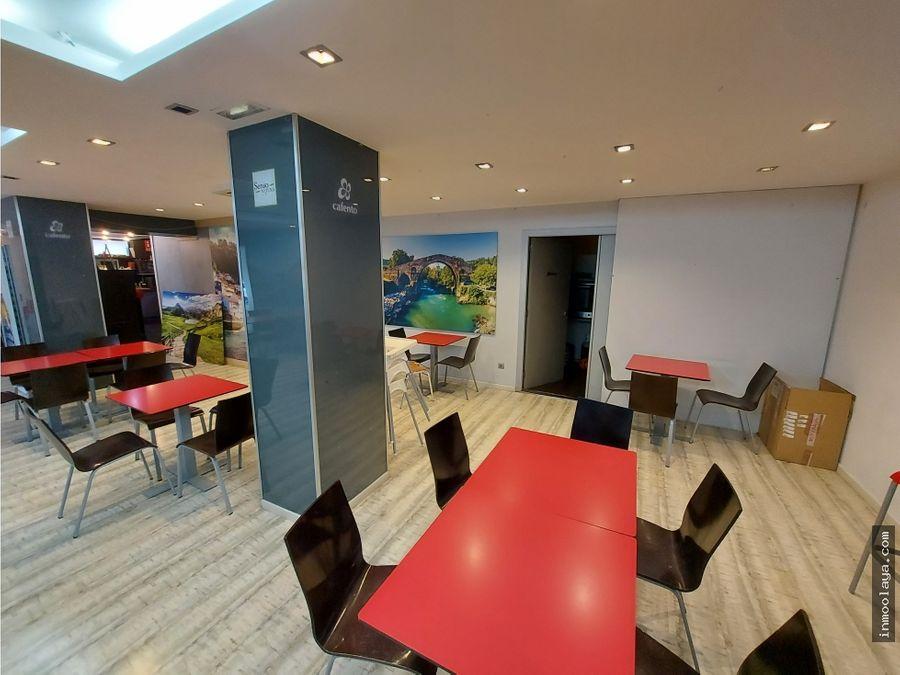 traspaso bar restaurante en palleja con terraza