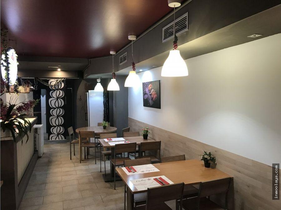 traspaso restaurant c3 en plaza espana con terraza
