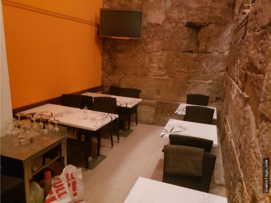 traspaso restaurante c3 en el gotico