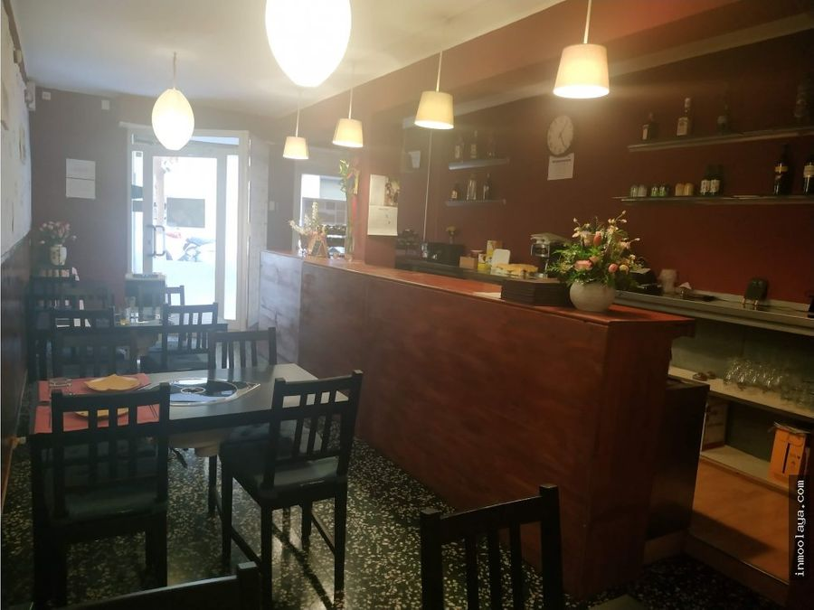 traspaso bar restaurante c3 en sant gervasi