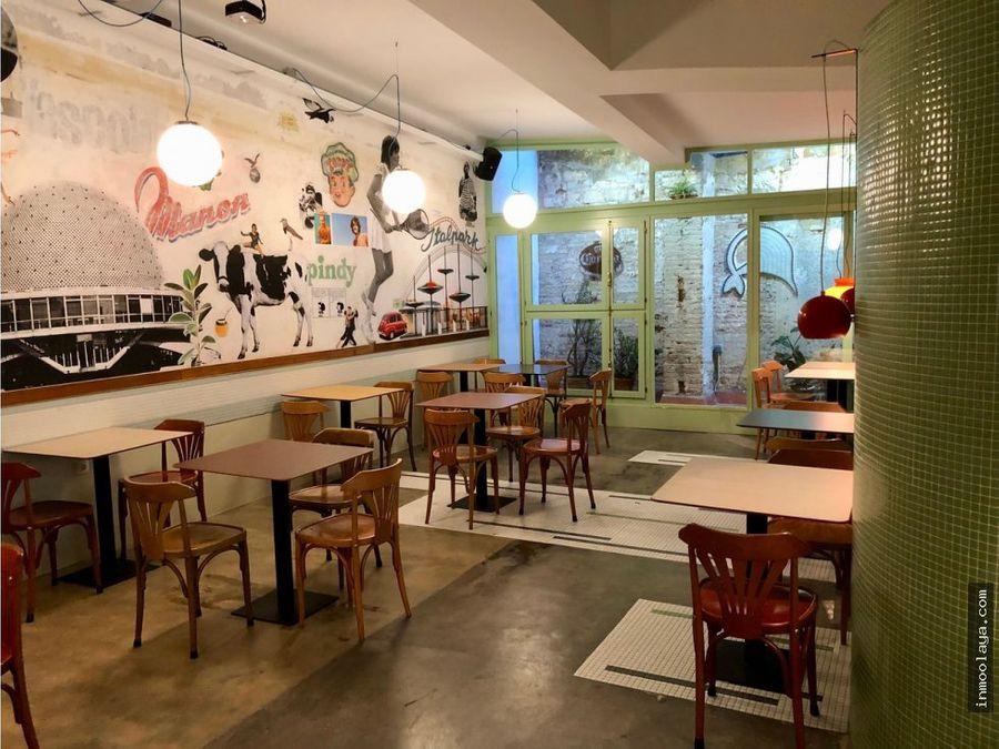 traspaso bar restaurante c3 mixto en raval