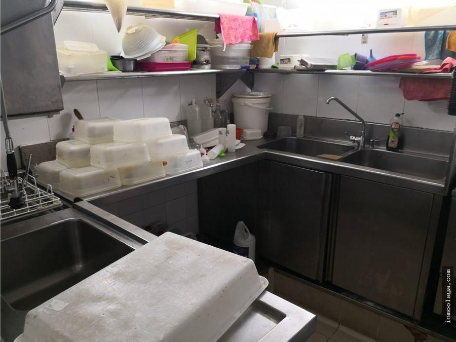 traspaso de restaurante cocteleria c3 en el born