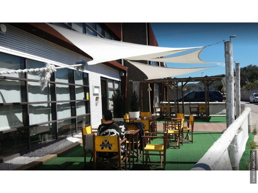 traspaso restaurante c3 con terraza chill out en cervello