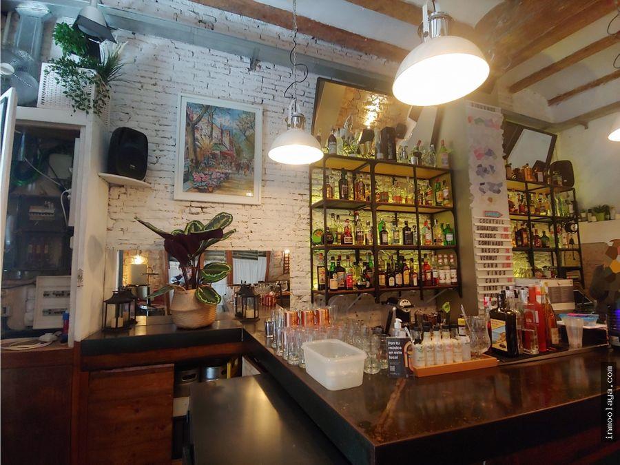 traspaso cocktail bar c1 en el barrio gotico