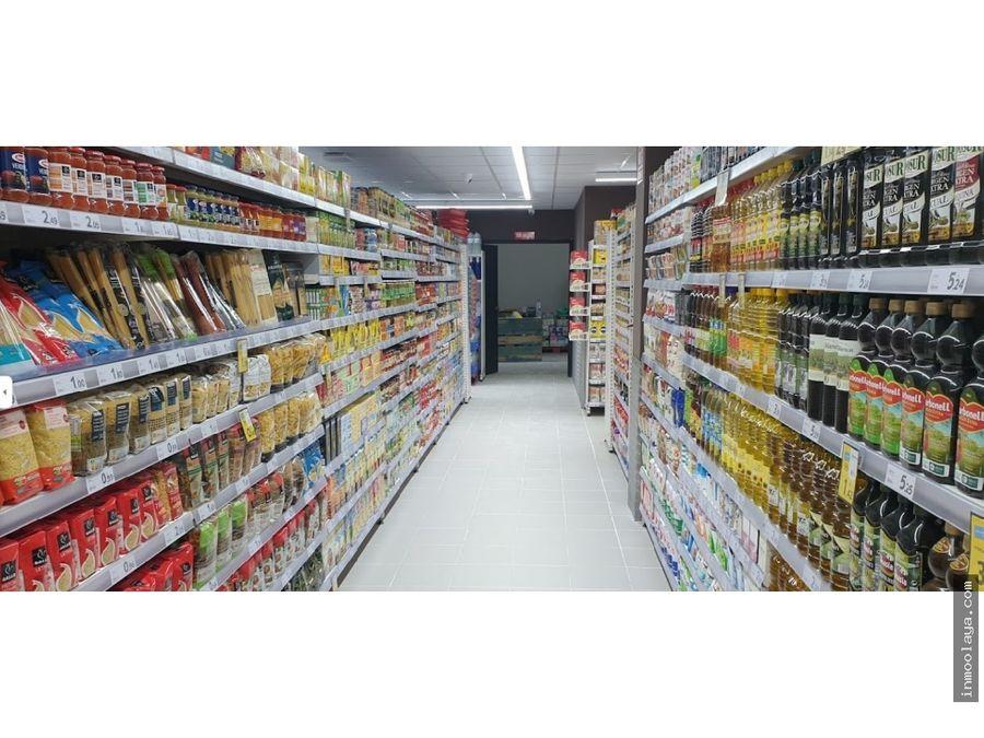 traspaso supermercado con franquicia en horta