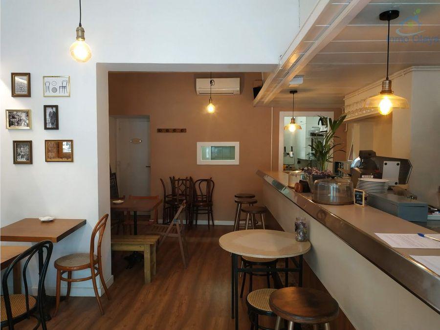traspaso restaurante c3 av tibidabo con terraza