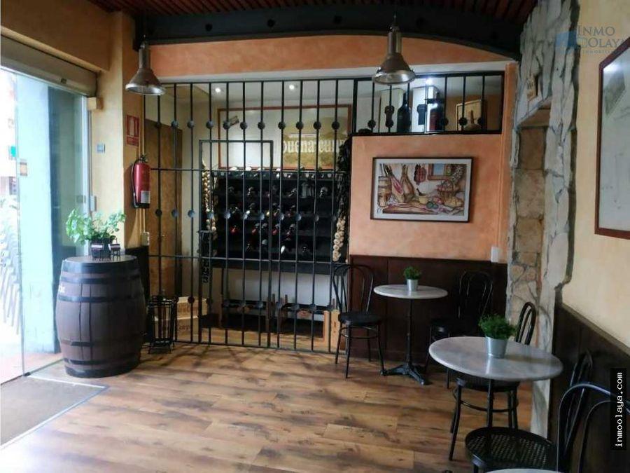 venta de bar restaurante c3 terraza en cornella