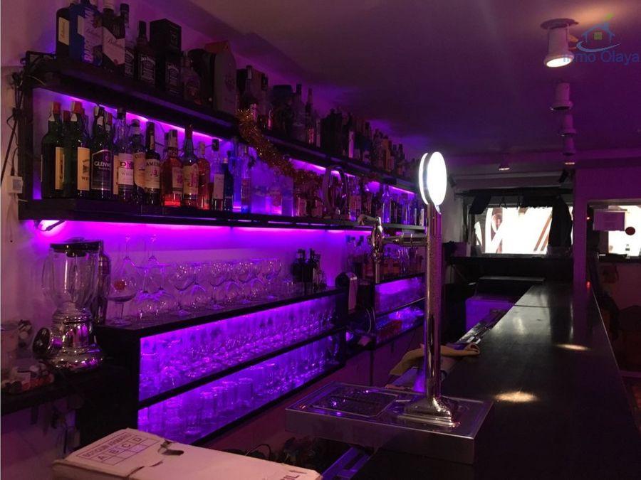 traspaso bar de copas en sarria sant gervasi