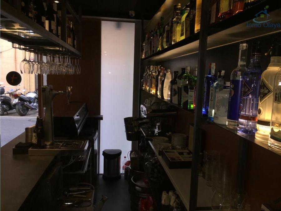 traspaso bar restaurante en lhospitalet