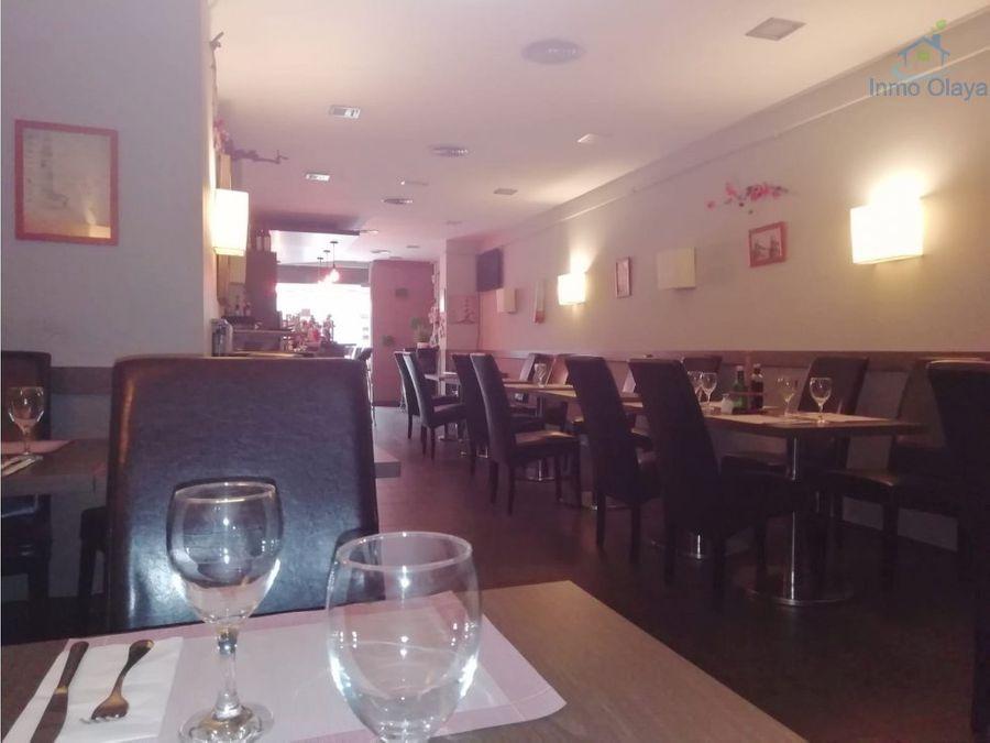 traspaso restaurante c3 en francesc macia