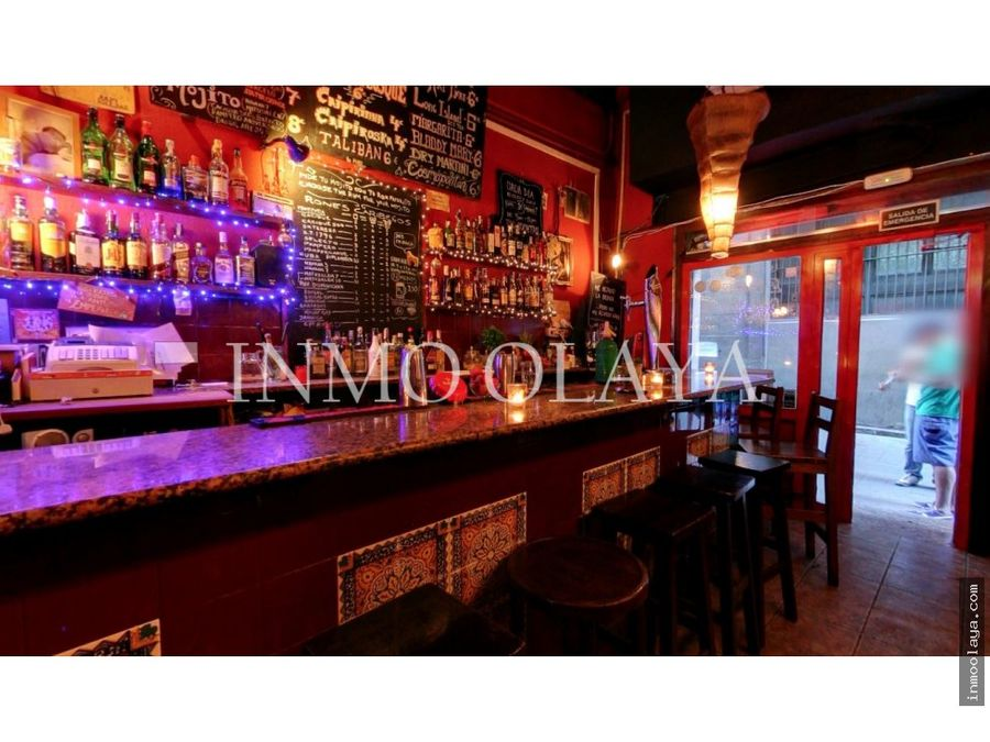 traspaso bar restaurante c2 en el barrio gotico