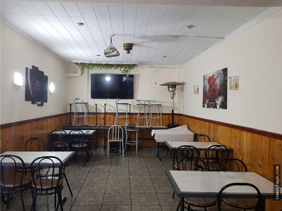 traspaso bar restaurante en badalona