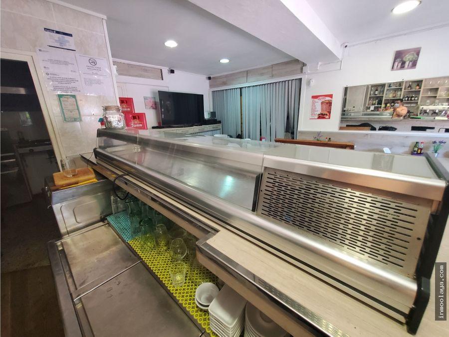 traspaso bar restaurante c3 en castelledefels centro